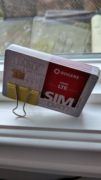 Brand New Unactivated Rogers Wireless Nano SIM card / cards Markham