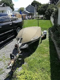 12 ft fishing boat and trailer