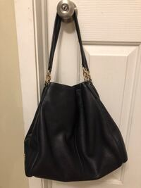 Navy Blue leather Coach Purse - Great condition! Calgary, T3J