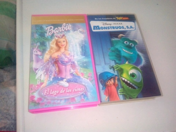 Pack 2 VHS