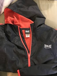 Spring boys black and red jacket size large 10 to 12 Manchester, 03104