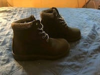 pair of brown suede work boots Washington, 20018