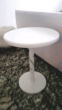 White wooden side table Guelph, N1L 1N2