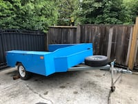 Trailer with locking side tool boxs 8x8 Burnaby, V3N 2S5