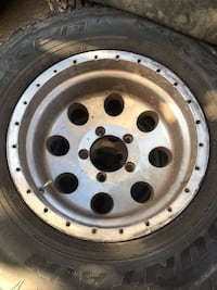 gray bullet hole car wheel with tire South Gate, 90280