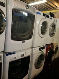 MAYTAG front load washer and dryer set working per Baltimore, 21223