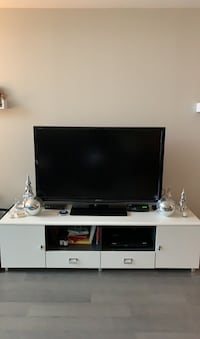 Television and white stand