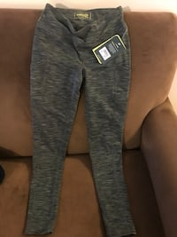 Pewter Bass Propel yoga pants w/pockets Washington, 20024