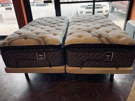 ADJUSTABLE BASES AND LUXURY MATTRESSES! ONLY $40 DOWN TAKE HOME TODAY!