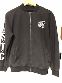 Crooks and castles zippered jacket sz small