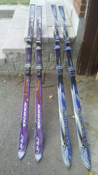 purple and blue-and-gray ski boards Toronto, M2N 1X8