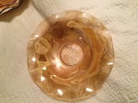 Large Depression Glass Bowl Wrightsville, 17368