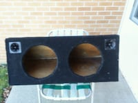 12 inch and 10 inch subwoofer box's London, 40741