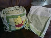 Boys Crib Bumper/Skirt 780 mi