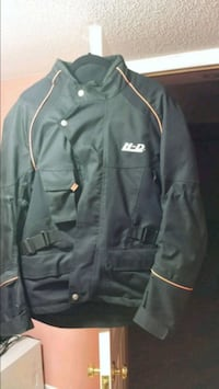 Heavy duty motorbike jacket