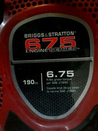 Briggs&Stratton pressure washer  Cambridge, N3H 3W6