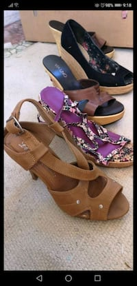 Super cute spring summer shoes.. all size 6.5   Coquitlam, V3K 4W5