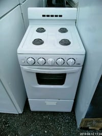 white and black gas range oven Prince George's County, 20746