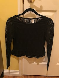 Black lace top Los Angeles, 91042