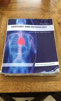 Book -Anatomy and Physiology Fifteenth edition Stamford, 06902