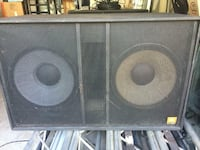"1200 Watts JBL Professional SR-X SR4719X Dual 18"" Subwoofer--ONLY ONE UNIT"