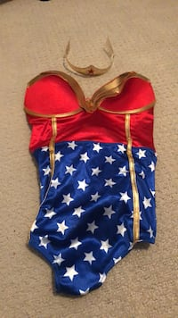 Large Wonder Woman Costume Langley, V3A 0C9