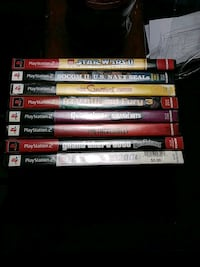 assorted Sony PS2 game cases Muskegon, 49444
