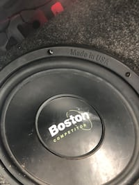 "Set of 2 12"" Boston competitor with amp  Foley, 56329"