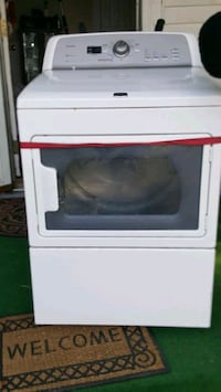 white front-load clothes dryer Raleigh, 27603