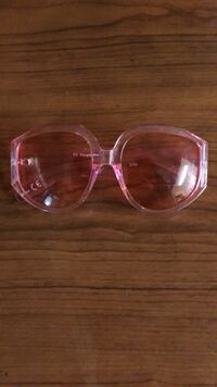 pink and white framed sunglasses Toronto, M4E 1R4