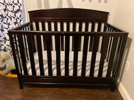 Crib and dresser (sold together or separately)