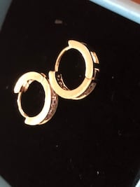 Baby 14k gold plated earrings  West Park, 33023