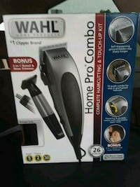 black and gray Wahl hair clipper box Odessa