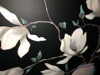 Flower canvas painting 64 inches by 52 inches Mahwah, 07430