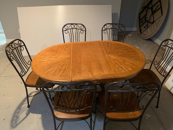 Brilliant Dining Table And 6 Chairs Download Free Architecture Designs Viewormadebymaigaardcom