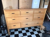 7 drawer wooden dresser Amston, 06231