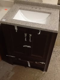 Black  wooden cabinet with sink Rockville, 20850