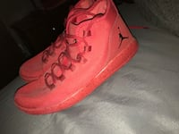New red Jordan Eclipse, men size 9.5. Must be able to pick up Calhoun, 30701