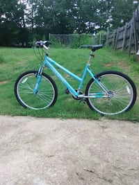 blue and black hardtail mountain bike Greenville, 29609