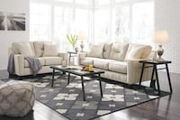 Forsan Nuvella Sand Living Room Set | 66905 Houston, 77019