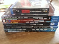 Batman the Animated Series Blu-ray and Comics Asheville