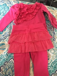 Girls 2t pink outfit