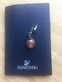 Swarovski lady bug  pendant Washington, 20010