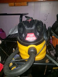 black and red canister vacuum cleaner Kelowna, V1X 6N7