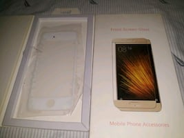 I phone 5 s front screen glass brand new