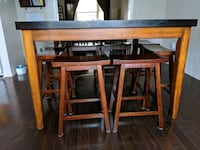 brown wooden table with chairs London, N6M 1J2