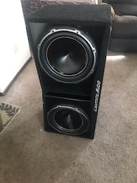 "2 x12"" Lightning audio dual Subwoofer Anchorage, 99507"