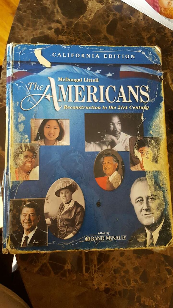 the americans- U S history book