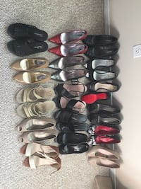 Ladies shoes - 16 pairs - size 6