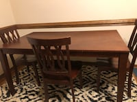 Like new - kitchen table with 3 chairs Mechanicsville, 23111